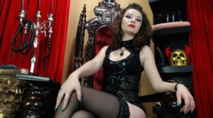 Nasty sph webcam mistress